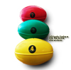 Weighted Rugby Trainer Balls - Club Set