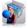 Bulk - Massage Ball - Blue - 20pk